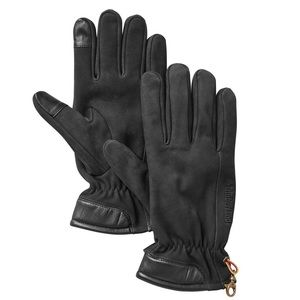 MEN'S TIMBERLAND LEATHER TOUCHSCREEN GLOVES
